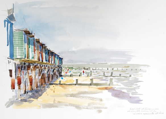 beech-huts-frinton-bh-sunday-4-may-2014-watercolour