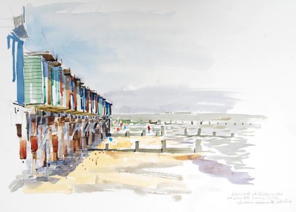 beech-huts-frinton-bh-sunday-4-may-2014-watercolour