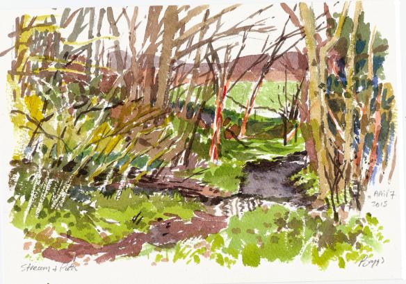 stream-over-path-watercolour-april-7-2015-sm