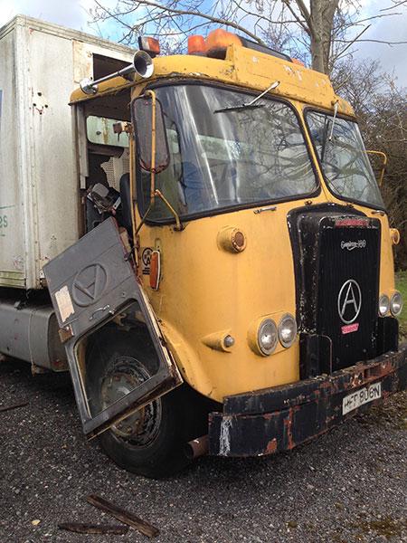 Atkinson lorry cab 1